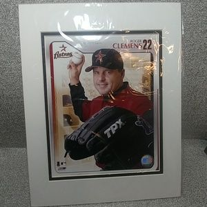 Astros ROGER CLEMENS #22 Pitcher
